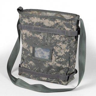 アメリカ軍、ACU デジタルカモ、MOLLE2 ラジオショルダーバッグ(新品)A25AN=