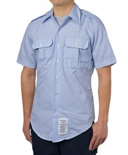 US.エアフォース、メンズ、半袖ドレスシャツ(ニアニュー)AF-SS-N2