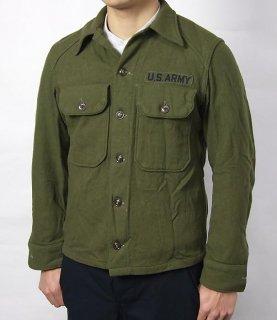 アメリカ軍 U.S.ARMY ビンテージ OG-108 ウール ワッペン付 フィールドシャツ(USED)A17UVW