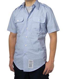 US.エアフォース、リメイク半袖ドレスシャツ(USED)AF-SS-U-H