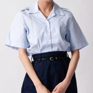 US.AF、タックイン半袖ドレスシャツ(新品) AF-SS-LN