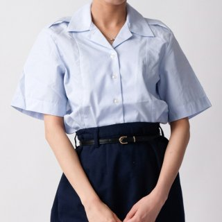 アメリカ空軍 USAF レディース タックイン 半袖ドレスシャツ(新品) AF-SS-LN-