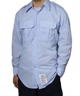 US.エアフォース.メンズ、長袖ドレスシャツ(ニアニュー) AF-LS-N2