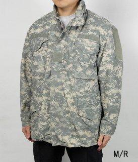 アメリカ軍 ACU デジタルカモ M-65 フィールドジャケット(USED)A5AU