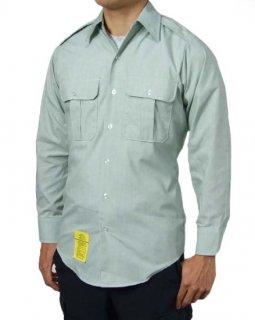 US.ARMY.メンズ、長袖ドレスシャツ(新品)AMY-LS-N