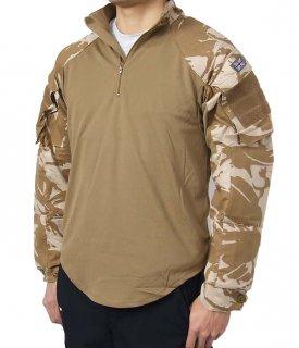 イギリス軍 デザートカモ スリーブシャツ(新品)B55N