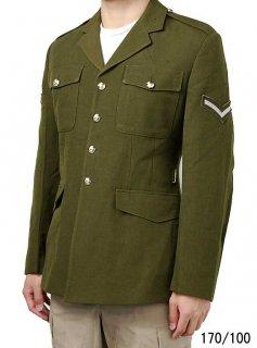 イギリス陸軍 ARMY グリーン 階級章付 No.2 ドレスジャケット(USED)B38UW