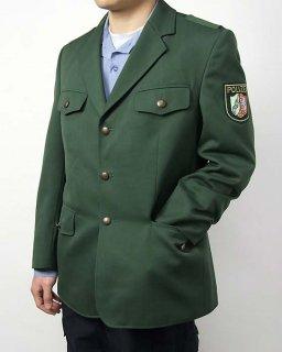 ドイツ警察 POLIZEI グリーン ドレスジャケット(新品)G54N