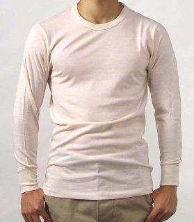 イタリア軍ナチュラル、ウールシャツ(新品)E32N-