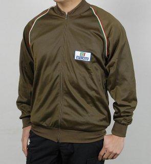 イタリア、ブラウン、GYM.ジャケット(新品)E36N