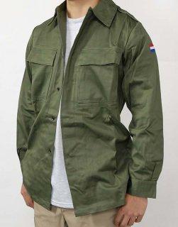 オランダ軍 OD ファティーグシャツ(新品)D12N