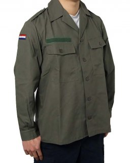 オランダ、KL.ファティーグシャツ(新品)D11N