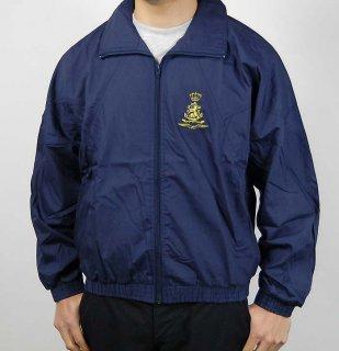 オランダ空軍 ブルー トレーニングジャケット(新品)D15N