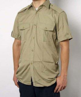 チェコ、M98.カーキ、半袖サービスシャツ(新品)E97SN