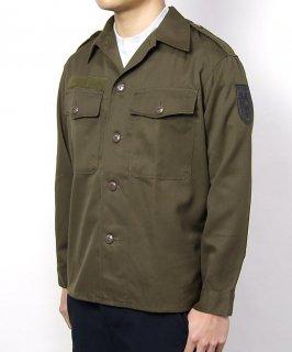 オーストリア軍 厚手 ワッペン付 ファティーグシャツ(USED)E74UW=