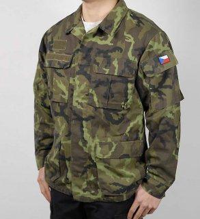 チェコ、M95、カモ、フィールドジャケット(USED)E16U