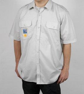 オーストリア、グレー、半袖シャツ(新品)E81SN