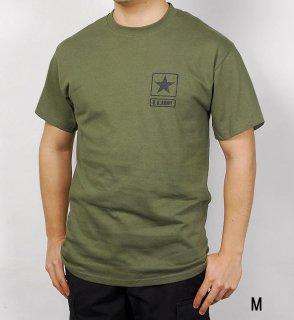 U.S.ARMY OD Tシャツ(新品)アーミーロゴ T41NA