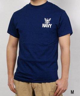 U.S.NAVY ネイビー SOFFE ミリタリーTシャツ(新品)T46NN-