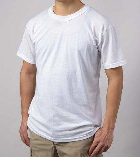 U.S. ホワイト SOFFE ミリタリーTシャツ(新品)T55N-