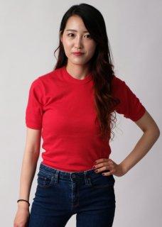 イギリス軍 レッド フィジカルトレーニングTシャツ(新品)T47N