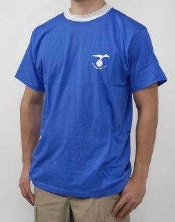フランス空軍 エアフォース ブルー Tシャツ(新品)T87N-
