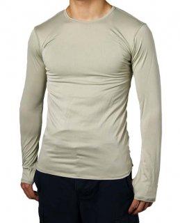【スモール特価】アメリカ軍 サンド ECWCS GEN3 LEVEL1 ロングTシャツ(新品)T59KN-SB