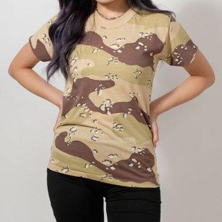 アメリカ キッズ デザートカモTシャツ(新品)T21K-