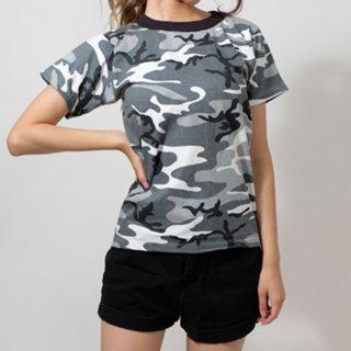 アメリカ キッズ シティーカモTシャツ(新品)T31K-