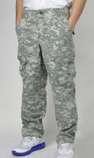 アメリカ軍 ACU デジタルカモ コンバットパンツ(USED)134U