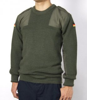 ドイツ軍 OD コマンドセーター(新品) S21GN
