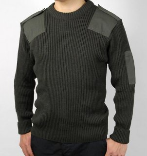 ポルトガル軍 OD コンバットセーター(新品)S22N