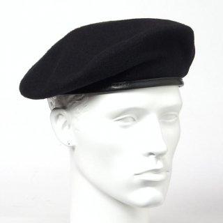 アメリカ軍 ブラック スペシャルフォース ウール ベレー帽(新品)M51N