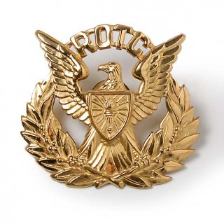 US.ARMY.ROTC.キャップバッジ(新品)17NA