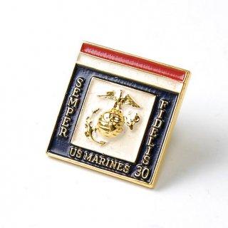 US.マリーン、ロゴ襟章(新品)19NM