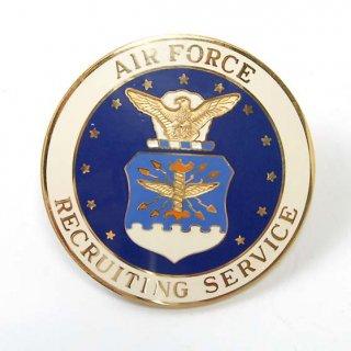 USAF.リクルートサービス、バッジ(新品)19NB