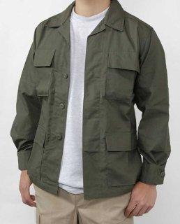 アメリカ軍 OD リップストップ コンバットジャケット(新品)A1GN
