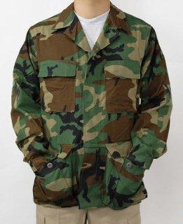 アメリカ軍 ウッドランドカモ リップストップ コンバットジャケット(新品)A2RN=