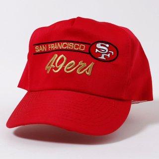 サンフランシスコ、49ナースキャップ(新品)NFL.フットボール 52