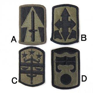 US.OD.部隊章ワッペン(新品)2A BRANCH-GN2A
