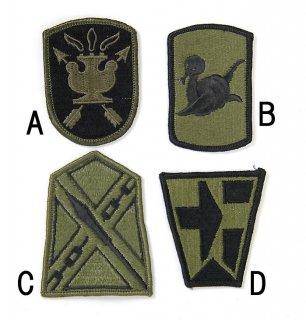 US.OD.部隊章ワッペン(新品)5 BRANCH-GN5