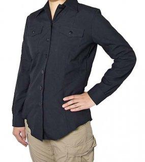 アメリカ海軍 U.S.NAVY ブラック レディース ドレスシャツ(新品)A15LN=