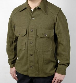 アメリカ軍 U.S.ARMY ビンテージ OG-108 ウール フィールドシャツ(ニアニュー)A17NV2
