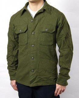 アメリカ軍 U.S.ARMY OG-108 ウール フィールドシャツ(USED)A17U