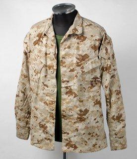 アメリカ海兵隊 USMC マーパット デザートカモ MCCUU ジャケット(ニアニュー)A25N2=