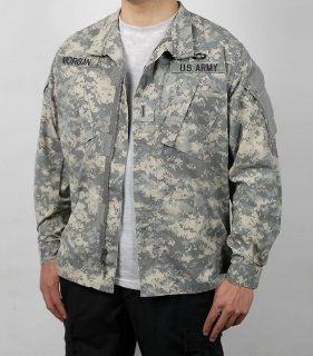 US.ACU.部隊章付、デジタルカモジャケット(USED)A3UW