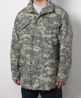 アメリカ軍 ACU デジタルカモ M-65 フィールドジャケット(ニアニュー)A5AN2