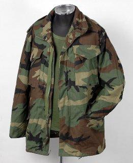 US.M-65.カモフィールドジャケット(ニアニュー)A6N2