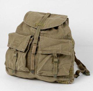 【訳あり】チェコ軍 カーキ ビンテージ M-60 バックパック(USED)164UD*