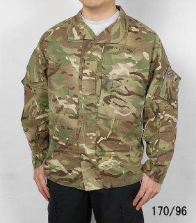 イギリス軍、MTP.マルチカム、テンパレイトジャケット ユニットパッチ付(USED)B31UW